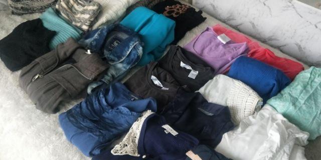 Clothes bundle 23 pieces Size S-M 8-10