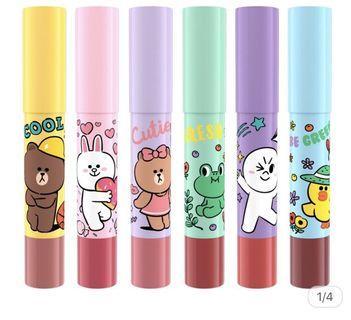 🚚 Line Friends Lip Crayon
