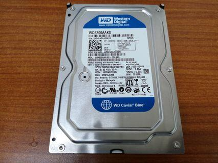 "320GB Western Digital WD 3.5"" SATA Desktop Hard Disk"