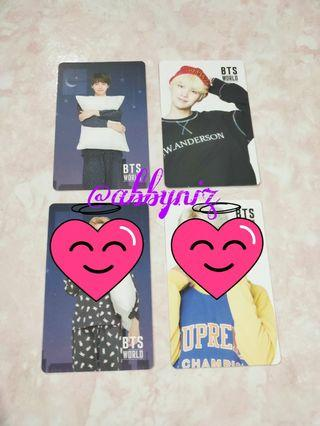 [WTT/WTS] BTS World OST photocard and coupon card