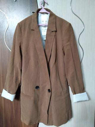 Brown Blazer HnM (New)