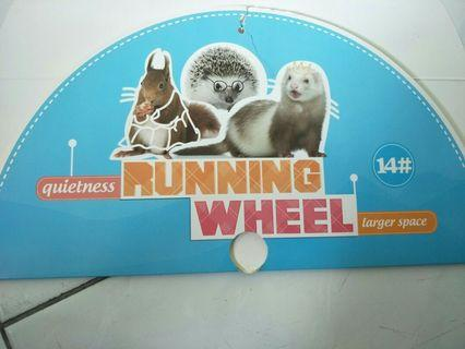 32cm running wheels