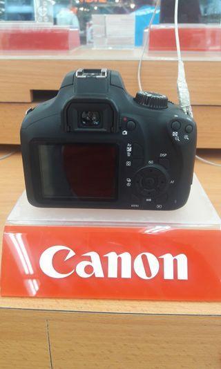 CANON CAMERA EOS 3000D cicilan tanpa cc DP hanya 10% proses cepat!