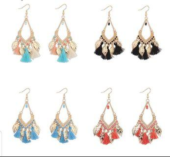 🚚 Women Korean  Tassel Earrings