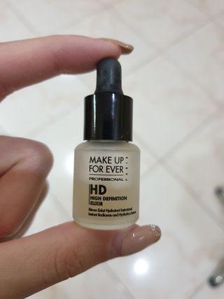 #beautyunder99k Make up for ever HD definition elixir sample size