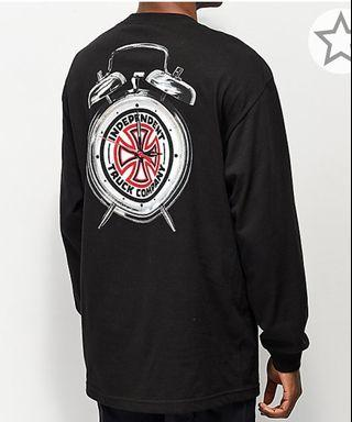 Independent X Thrasher time to go back long sleeve t shirt