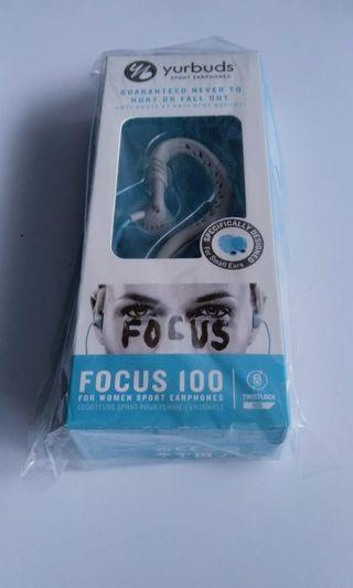 JBL yurbuds focus 100 with free bottle
