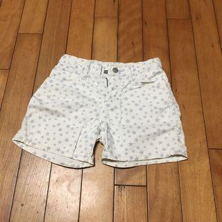 二手115cm-125cm Uniqlo 女童短褲熱褲