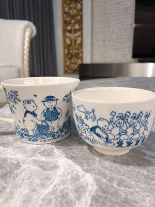 Nikko 小熊瓷杯