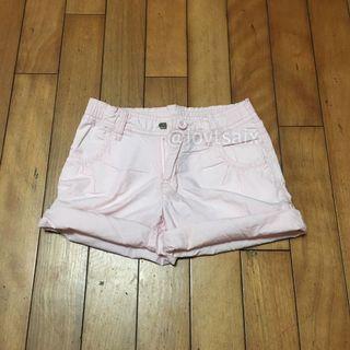 二手120cm 6歲 NET kids 女童反摺短褲熱褲