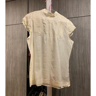 🚚 Zara Top Off White Lace (Like New)