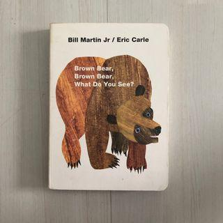 🚚 Brown Bear, Brown Bear, what do u see?