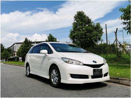 TOYOTA Wish MPV For Lease