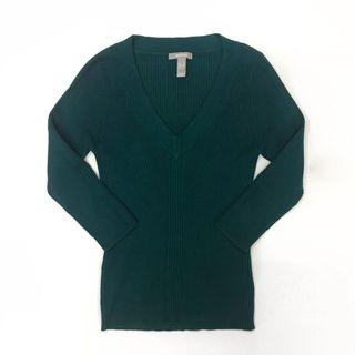 🌟 MNG Rich Green Knit Top