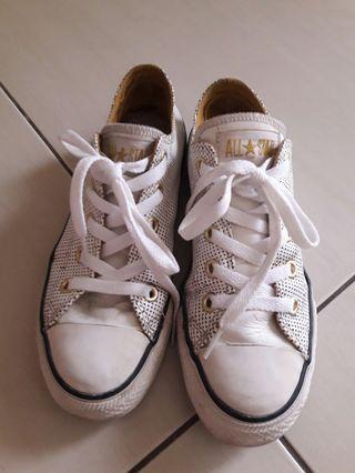 🚚 Converse All star女鞋(白)