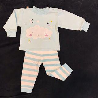 (3 Months) Baby Pyjamas Set Wear