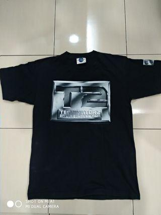 Vintage movie shirt Terminator 2