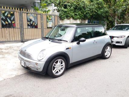 MINI Cooper 1.6 (A) with Sunroof and Moonroof 2005