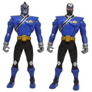 "Power Rangers Samurai MORPHIN BLUE RANGER 6.5"" Figure Bandai 2010"