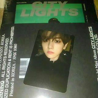 Baekhyun photocard night vers