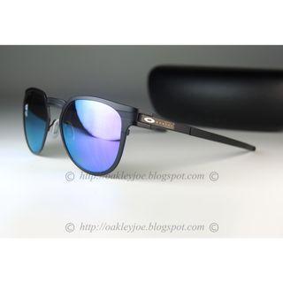 Oakley Diecutter satin black + violet iridium polarized oo4137-0655 sunglass shades