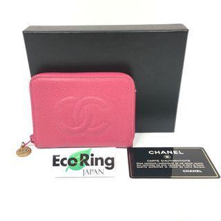 Chanel 香奈兒 CC Pink Grained Calfskin Gold-tone Metal Key Case 粉紅色 顆粒小牛皮 金色金屬 鑰匙包 A07943  X01501 91121 100%真品