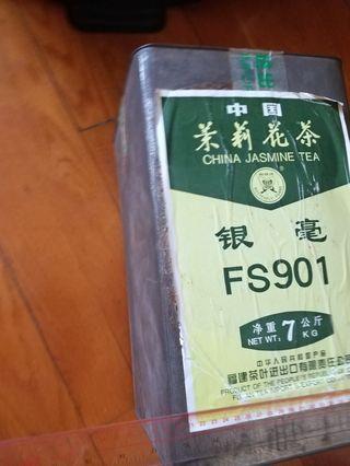 茶葉大鐵罐