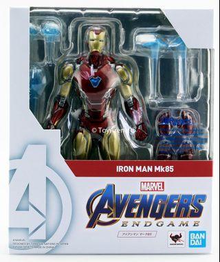 "S.H.Figuarts (Avengers: Endgame) Iron Man Mark 85 ""SHF 復仇者聯盟 终局之戰"" 鐵甲奇俠 MK-85 行版"