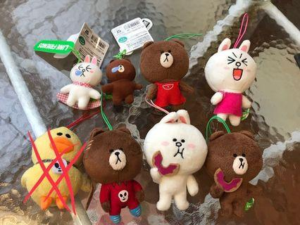Line Friends公仔