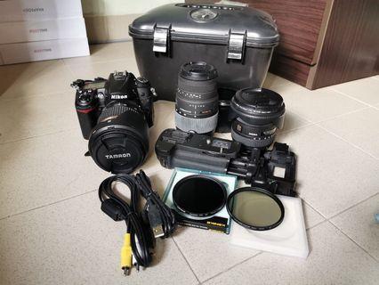 Nikon D7000 Tamron 17-50 f2.4 Sigma 10-20 Sigma 70-300 Macro