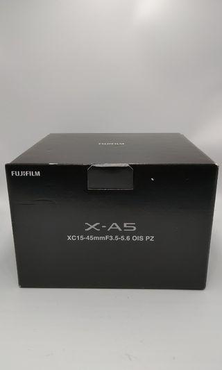 Fujifilm xa5+15-45mm kit set  over 90%new