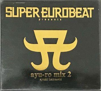 濱崎步 - Super Eurobeat Presents ayu-ro mixed 2 CD Album