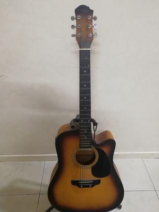 Acoustic Guitar  San Francisco with pick up