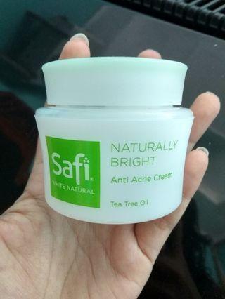 Safi White Natural Anti Acne Cream Tea Tree Oil