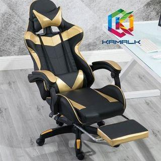 Fashion Game Gaming Chair with Footstool