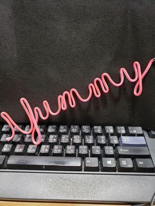 閃亮字體电線