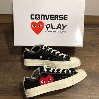 Brand new authentic Cdg converse for sale