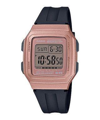 Bn Casio Rose Tone Digital Watch F-201WAM-5A