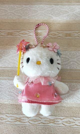 🚚 Authentic Hello Kitty Fairy Keychain
