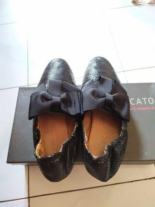 Sepatu wanita flat shoes staccato
