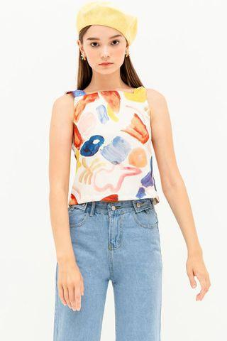 Modparade Lia Top watercolour