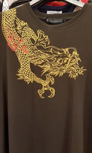 🚚 超高級燙金,刺繡,一條金龍