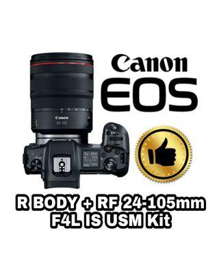 Canon EOS R 24-105mm F4 L IS USM Kit