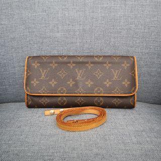Louis Vuitton 原花 信封 斜背包