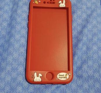 Case 360 Iphone 8 free tempered glass