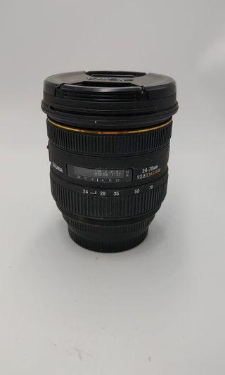 Sigma 24-70mm F2.8 DG HSM for canon over85%new