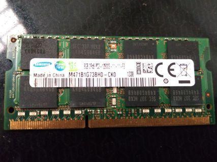 DDR3 Laptop ram 8gb