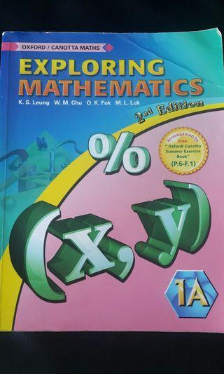 Exploring Mathematics 1A