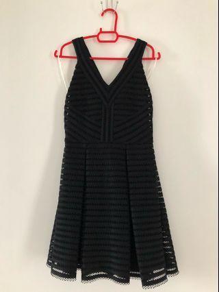 Maje Inspired Black Dress