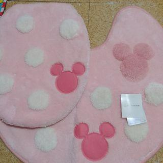 Belle Maison Minnie/ Mickey Mouse Toilet Cover